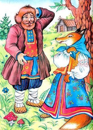 басня-крылова-крестьянин-и-лисица