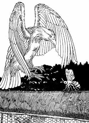 басня-крылова-орел-и-пчела